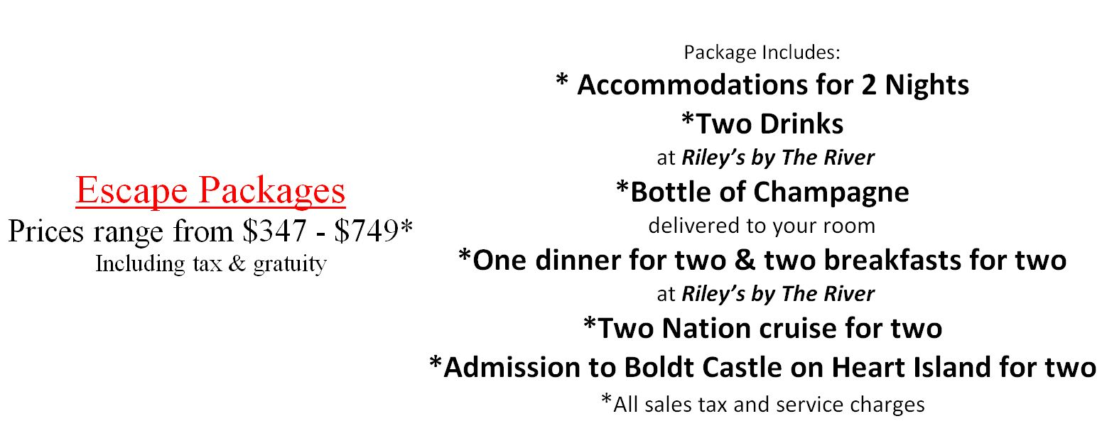 Escape 1000 Islands Vacation Package