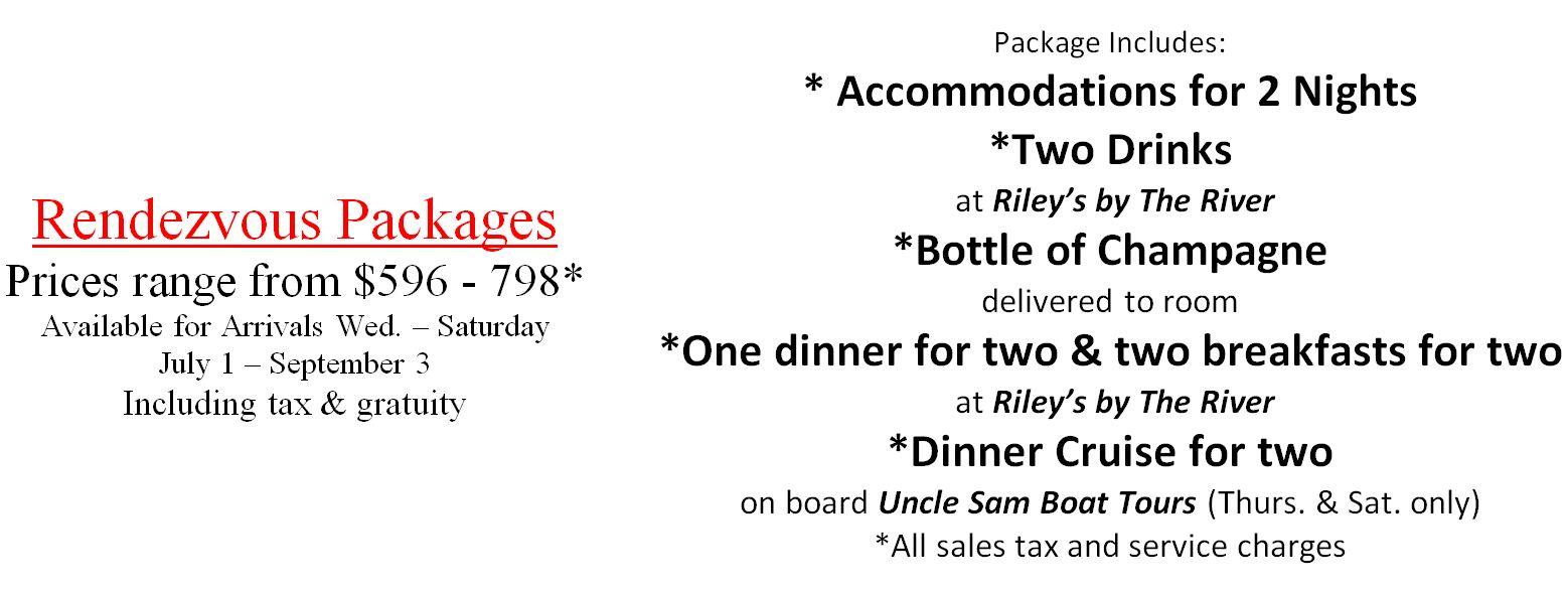Rendezvous 1000 Islands Vacation Package